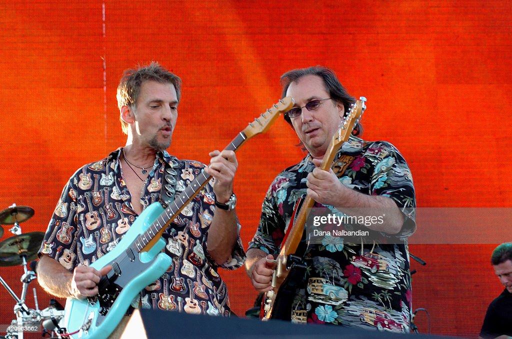 Kenny Loggins and Jim Messina during Loggins and Messina in Concert in Seattle - June 25, 2005 in Seattle, Washington.