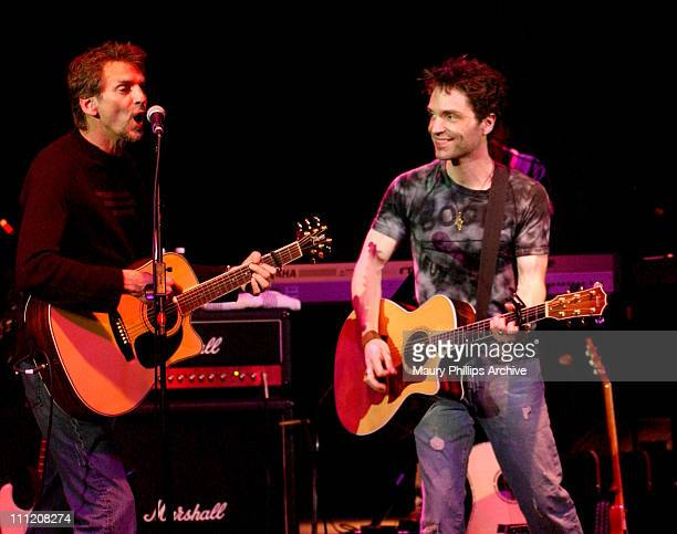 Kenny Loggins and Richard Marx during Richard Marx's 4th Annual Concert Raised over $26 Million to Benefit the Cystic Fibrosis Foundation at The...