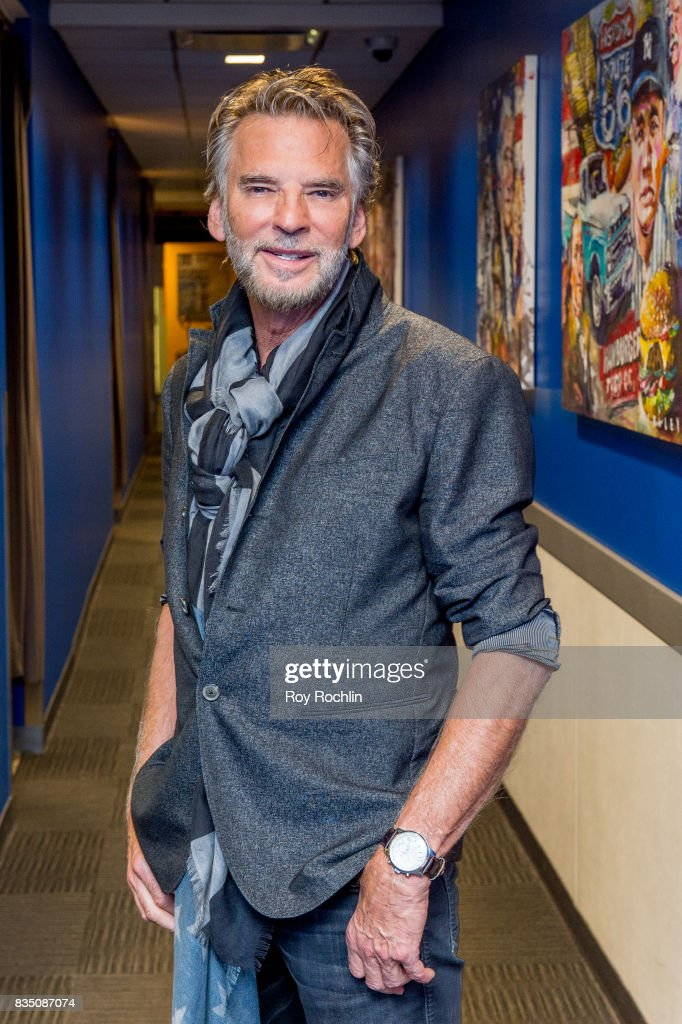 Kenny Loggins back stage before he performs on Fox & Friends' All-American Summer Concert Series at FOX Studios on August 18, 2017 in New York City.