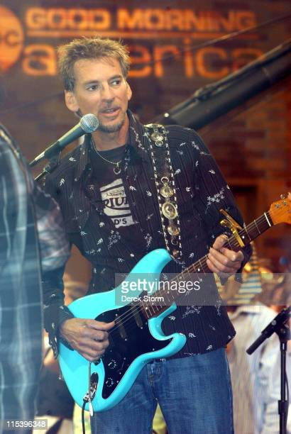 Kenny Loggins during Kenny Loggins and Jim Messina Perform on 'Good Morning America' June 14 2005 in New York City New York United States