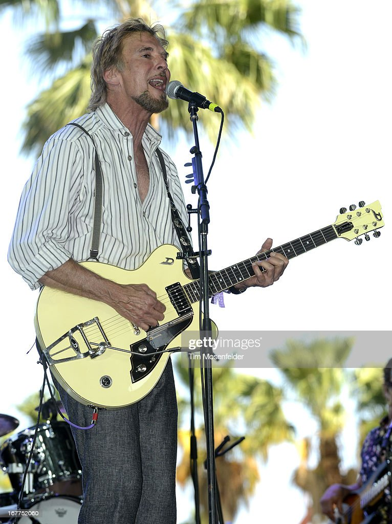 Kenny Loggins of The Blue Sky Riders performs as part of the Stagecoach Music Festival at the Empire Polo Grounds on April 28, 2013 in Indio, California.
