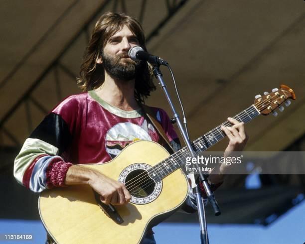 Kenny Loggins performs at Santa Barbara Bowl in Santa Barbara California on May 8 1977