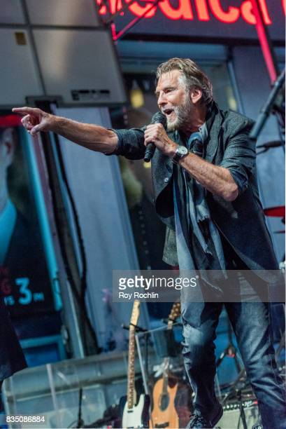 Kenny Loggins performs on Fox Friends' AllAmerican Summer Concert Series at FOX Studios on August 18 2017 in New York City