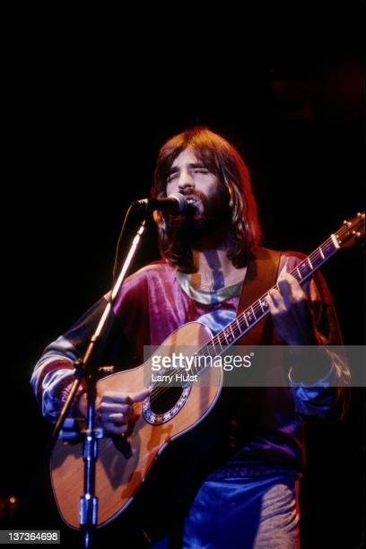 Kenny Loggins performs with 'Loggins and Messina' at the Community Center in Sacramento California on December 8 1974