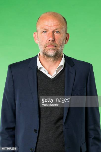 Kenny Lowe of the Glory poses during the Perth Glory 2016/17 ALeague headshots session at Fox Sports Studios on September 21 2016 in Sydney Australia