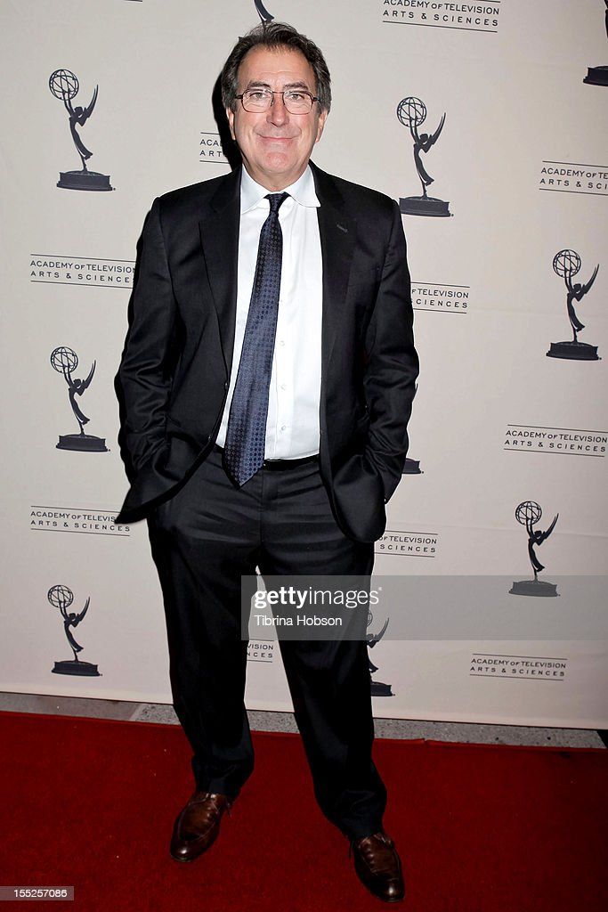 <a gi-track='captionPersonalityLinkClicked' href=/galleries/search?phrase=Kenny+Ortega&family=editorial&specificpeople=820096 ng-click='$event.stopPropagation()'>Kenny Ortega</a> attends the Academy of Television Arts & Sciences' 'The Choreographers: Yesterday, Today & Tomorrow' event at Leonard H. Goldenson Theatre on November 1, 2012 in North Hollywood, California.