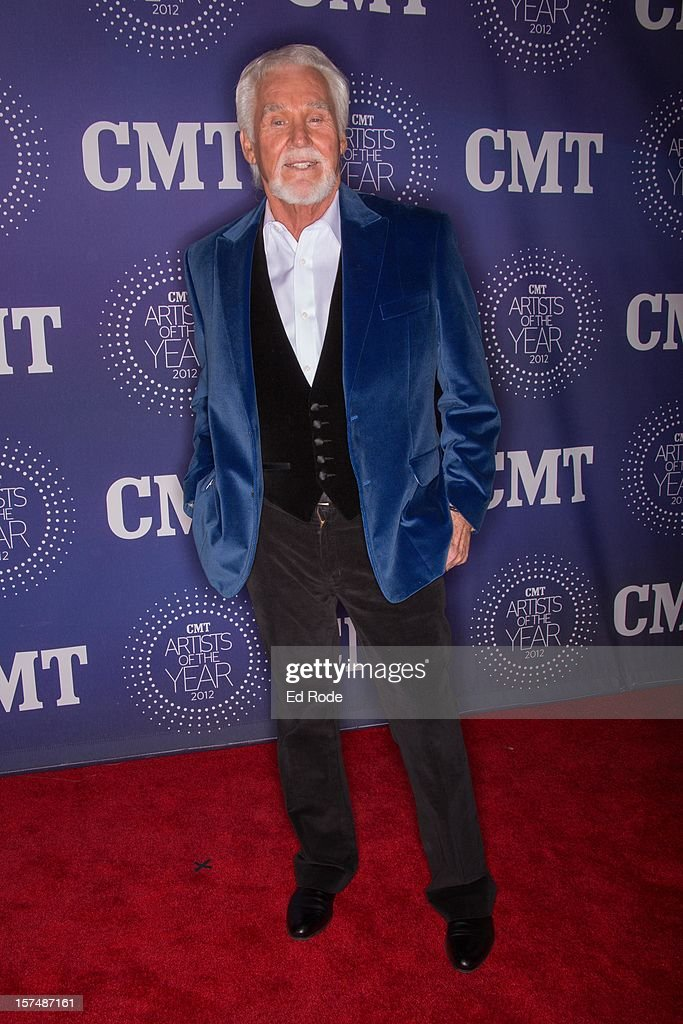 Kenny Rogers attends the CMT Artist of the Year Awards at The Factory At Franklin on December 3, 2012 in Franklin, Tennessee.