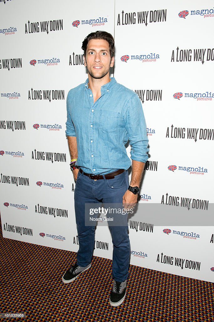 Kenny Santucci attends the 'A Long Way Down' New York Premiere at City Cinemas 123 on June 30, 2014 in New York City.