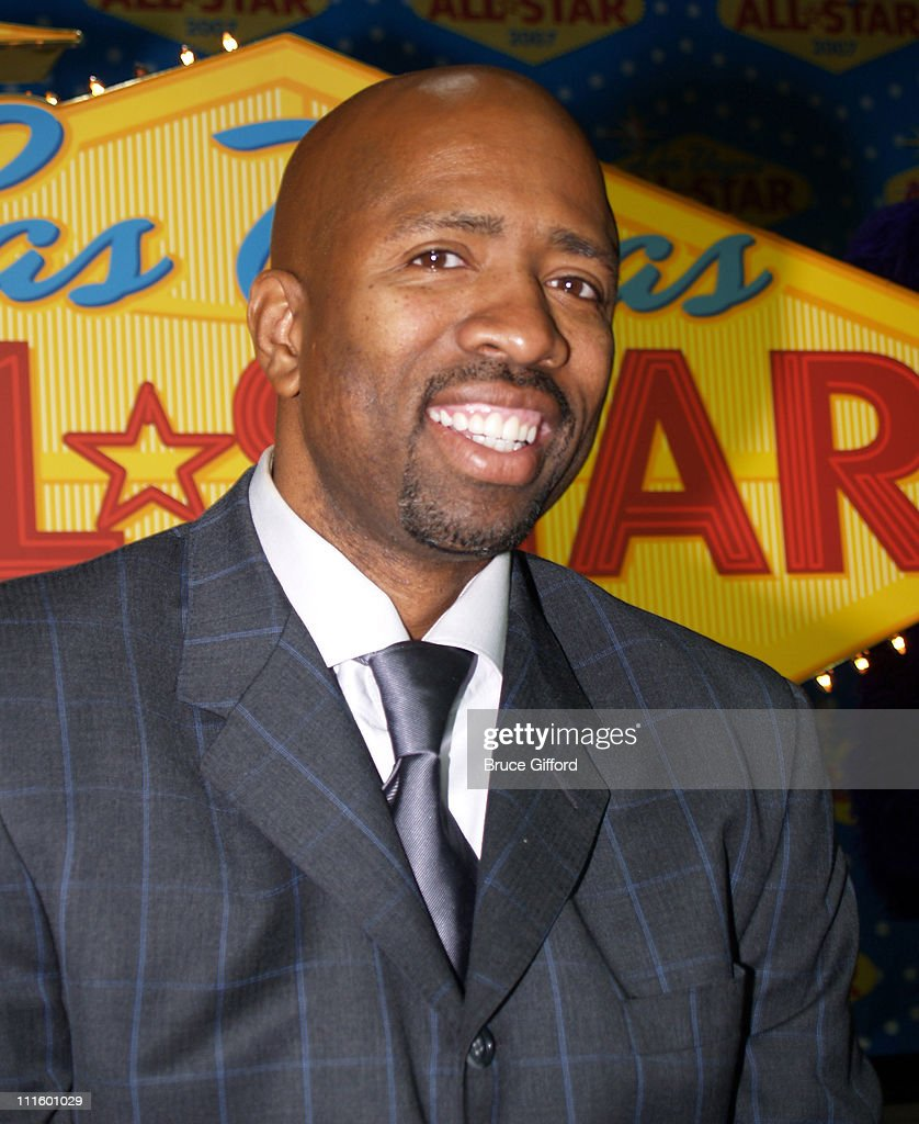<a gi-track='captionPersonalityLinkClicked' href=/galleries/search?phrase=Kenny+Smith&family=editorial&specificpeople=221585 ng-click='$event.stopPropagation()'>Kenny Smith</a> during NBA Legends Unveil 2007 NBA All-Star Logo at Fashion Show Mall in Las Vegas, NV, United States.