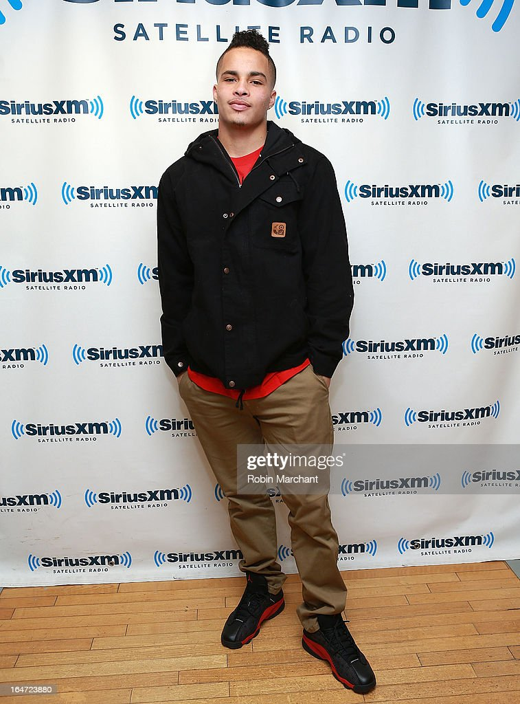 Kenny Stills visits at SiriusXM Studios on March 27, 2013 in New York City.