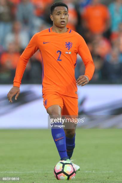 Kenny Tete of Hollandduring the friendly match between The Netherlands and Ivory Coast at the Kuip on June 4 2017 in Rotterdam The Netherlands