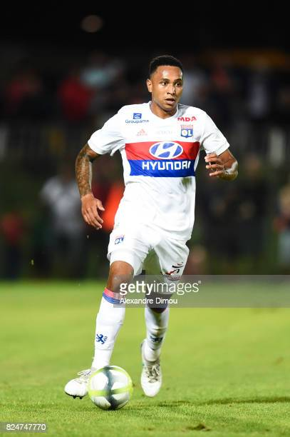 Kenny Tete of Lyon during the Friendly match between Montpellier Herault and Olympique Lyonnais on July 30 2017 in Montpellier France