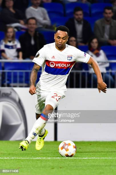 Kenny Tete of Lyon during the Uefa Europa League match between Lyon and Atalante Bergame on September 28 2017 in Lyon France