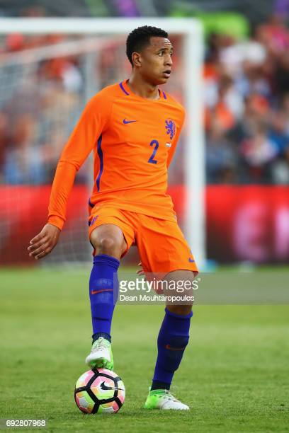 Kenny Tete of the Netherlands in action during the International Friendly match between the Netherlands and Ivory Coast held at De Kuip or Stadion...