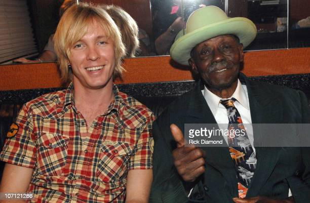 Kenny Wayne Shepherd and Joe Willie 'Pinetop' Perkins **Exclusive**