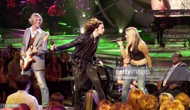 Kenny Wayne Shepherd Constantine Maroulis and Jessica Sierra