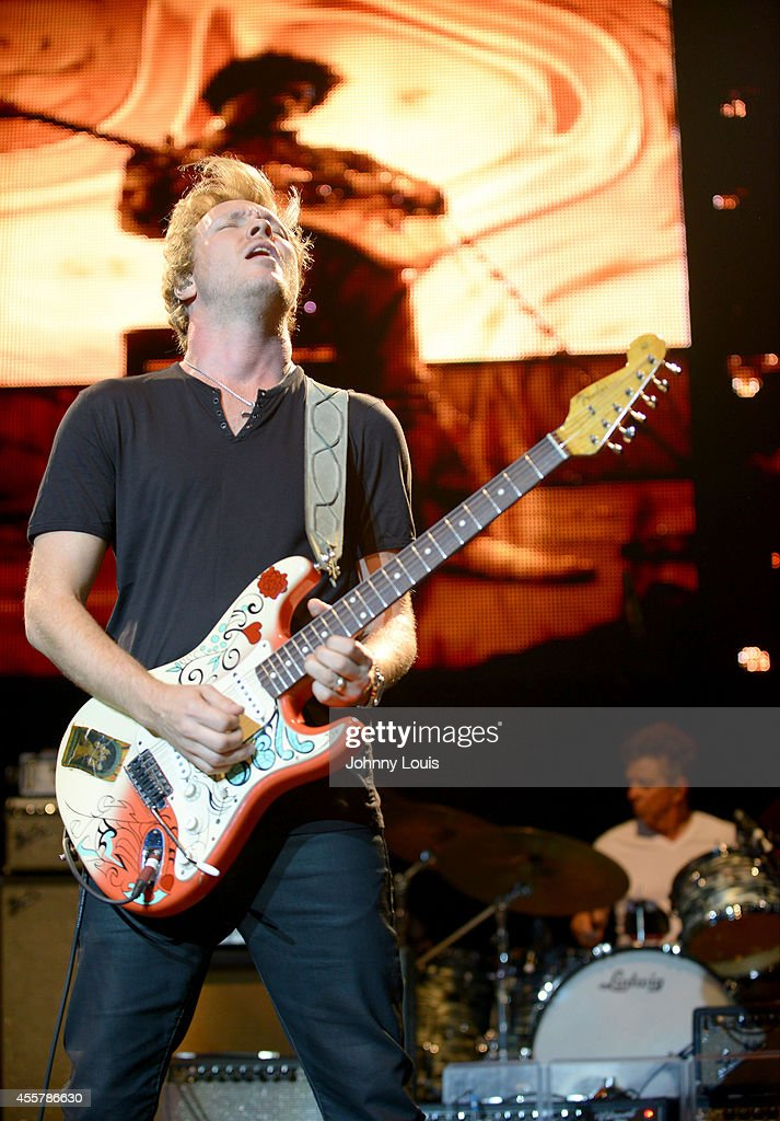 Kenny Wayne Shepherd performs during the Experience Hendrix 2014 Tour at Hard Rock Live! in the Seminole Hard Rock Hotel & Casino on September 19, 2014 in Hollywood, Florida.