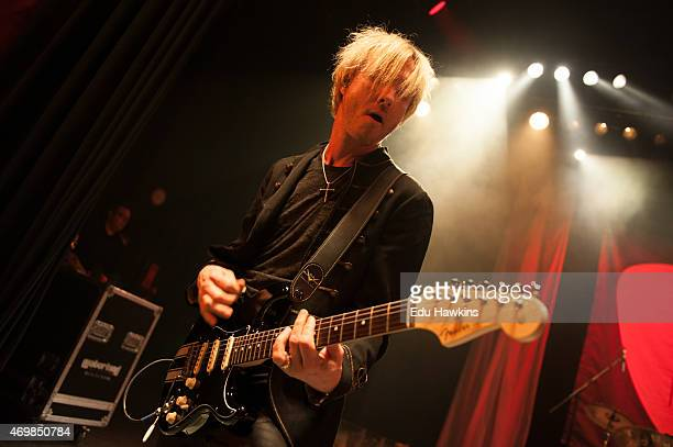 Kenny Wayne Shepherd performs on stage at O2 Shepherd's Bush Empire on April 15 2015 in London United Kingdom