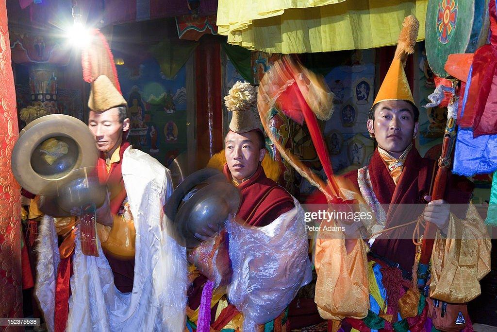 Keno Gompa (Monastery) Tagong, Sichuan, China : Stock Photo
