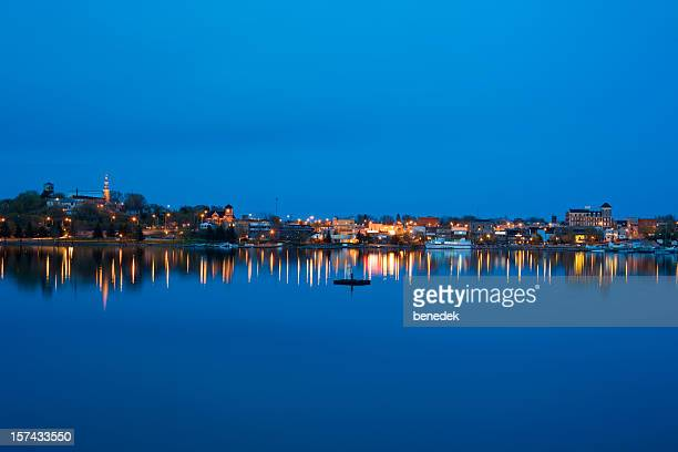 Kenora Ontario Canada and Lake of the Woods