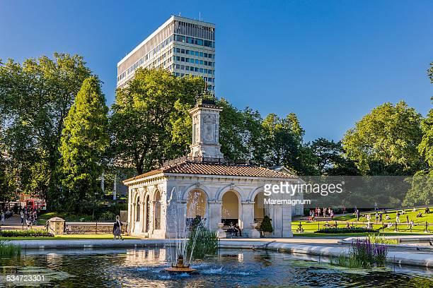 Kensington Gardens, the Italian Garden