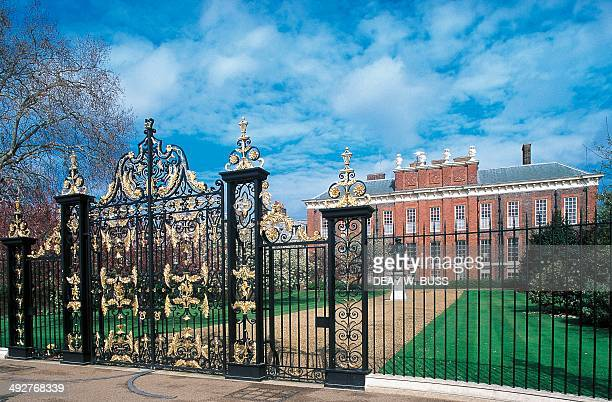Kensington Palace 17th18th century former royal residence London England United Kingdom