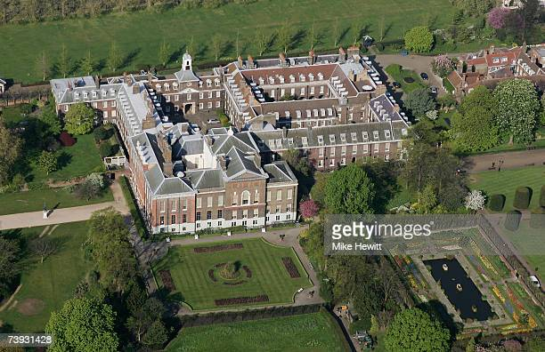 Kensington Palace in Hyde Park in the centre of London England
