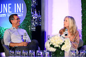 Kent Alterman President Content Development Original Programming Comedy Central and Executive Producer Betsy Beers speak onstage at the...