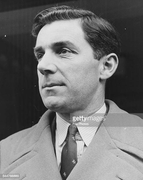 Kent and England cricket bowler Doug Wright director of Canterbury Sports Outfitters January 1950