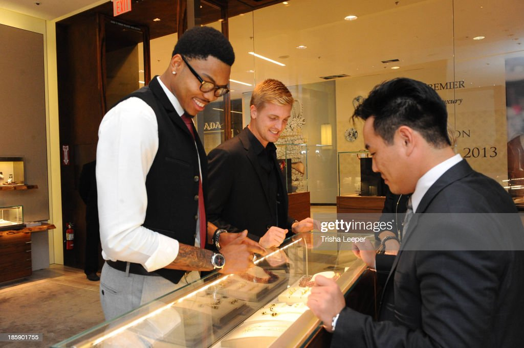 Kent Bazemore attend David Yurman Launches The Meteorite Collection With Kent Bazemore at Westfield Valley Fair on October 25, 2013 in Santa Clara, California.