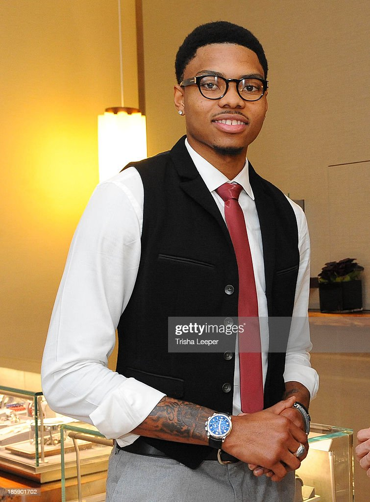 <a gi-track='captionPersonalityLinkClicked' href=/galleries/search?phrase=Kent+Bazemore&family=editorial&specificpeople=6846101 ng-click='$event.stopPropagation()'>Kent Bazemore</a> attends the David Yurman Launch of The Meteorite Collection at Westfield Valley Fair on October 25, 2013 in Santa Clara, California.