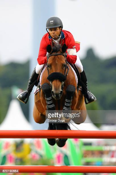 Kent FARRINGTON riding GAZELLE during the Prize of North RhineWestphalia of the World Equestrian Festival on July 21 2017 in Aachen Germany