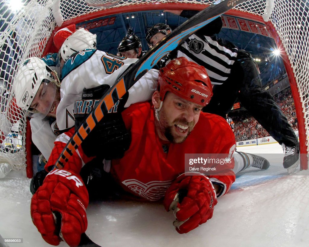 San Jose Sharks v Detroit Red Wings - Game Four