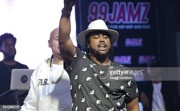 Kent Jones 99 JAMZ Presents Uncensored Starring Fat Joe on May 26 2016 in Miami Florida