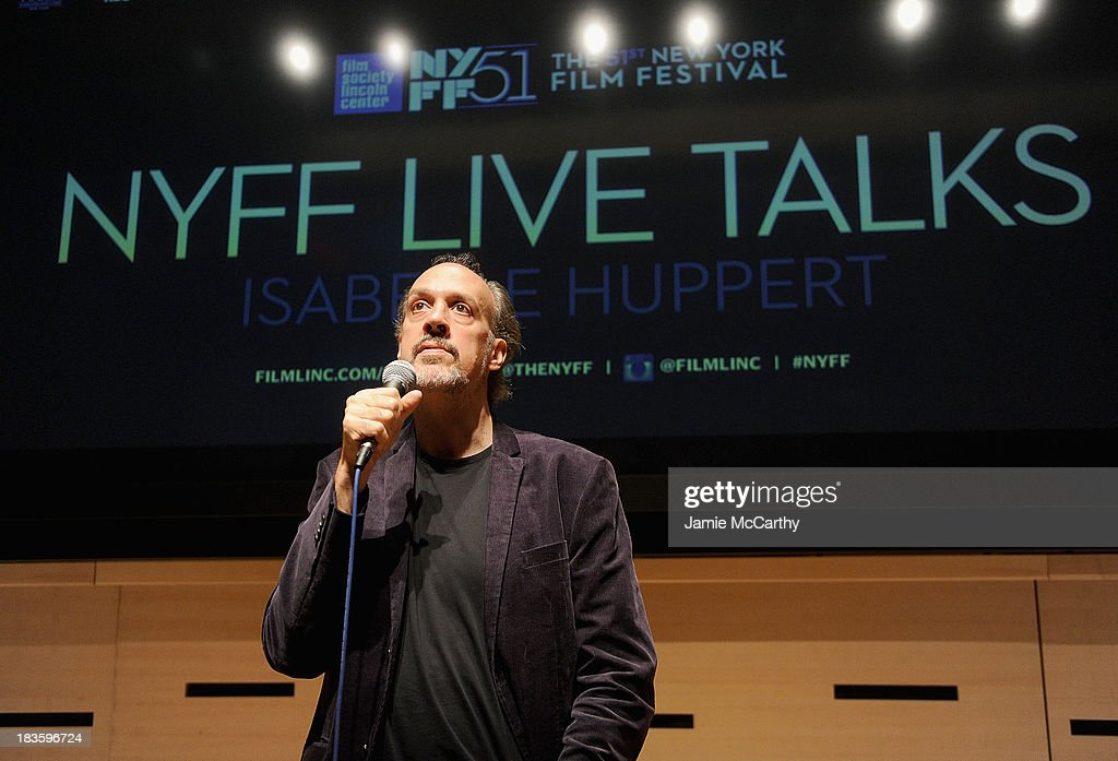 Kent Jones, Director of Programming for the New York Film Festival attends the Isabelle Huppert, 'Abuse Of Weakness' panel during the 51st New York Film Festival at Elinor Bunin Munroe Film Center on October 7, 2013 in New York City.