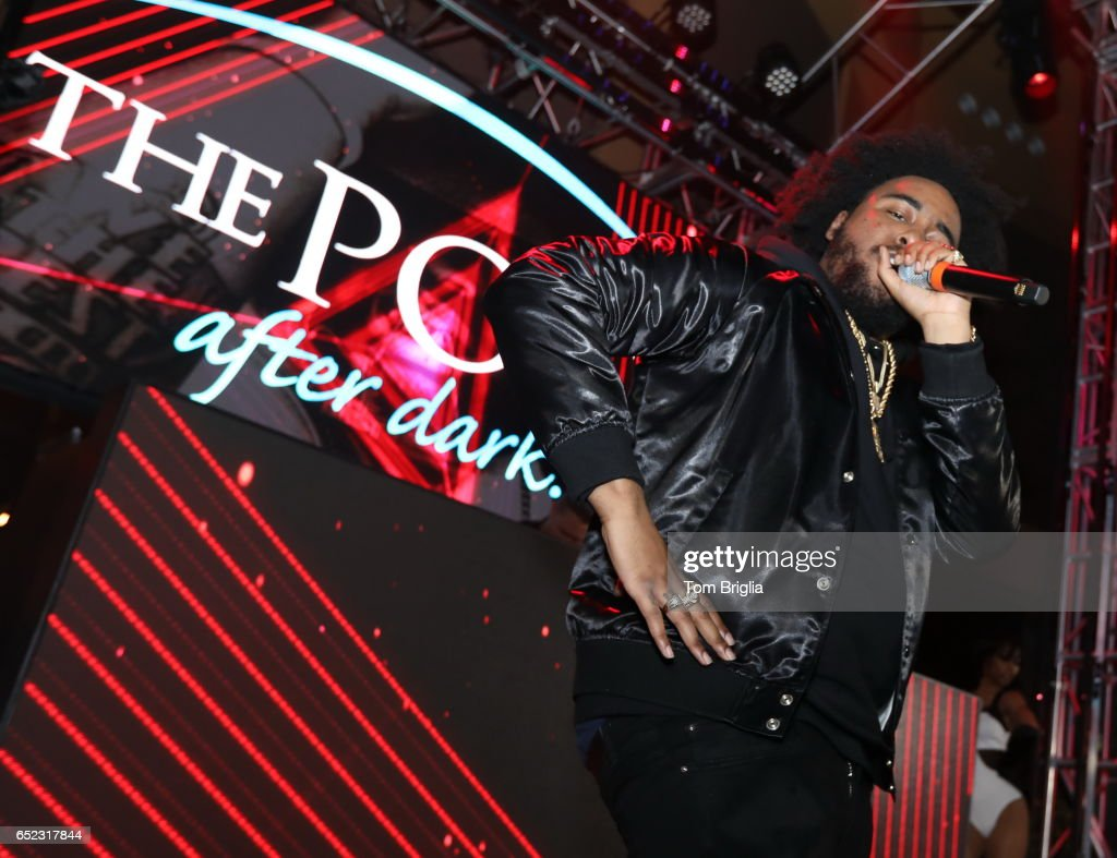 Kent Jones performs at The Pool After Dark at Harrah's Resort on Friday March 11, 2017 in Atlantic City, New Jersey