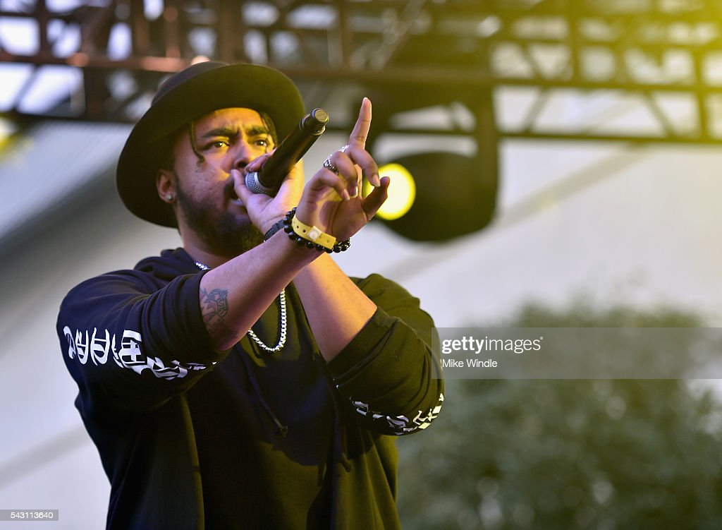 Kent Jones performs onstage at EpicFest 2016 hosted by L.A. Reid and Epic Records at Sony Studios on June 25, 2016 in Los Angeles, California.
