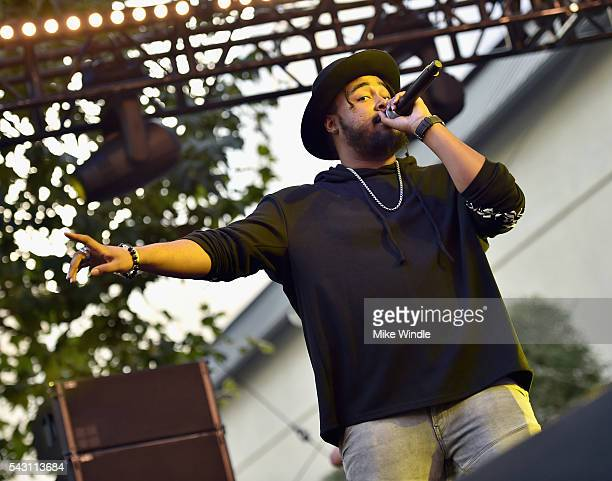 Kent Jones performs onstage at EpicFest 2016 hosted by LA Reid and Epic Records at Sony Studios on June 25 2016 in Los Angeles California