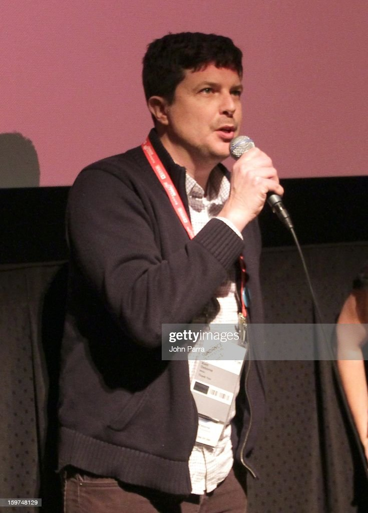 Kent Osborne speaks onstage at Adventure Time at Sundance at Redstone Cinema 1 at Kimball Junction on January 19, 2013 in Park City, Utah. (Photo by John Parra/WireImage) 23186_001_JP_0082.JPG