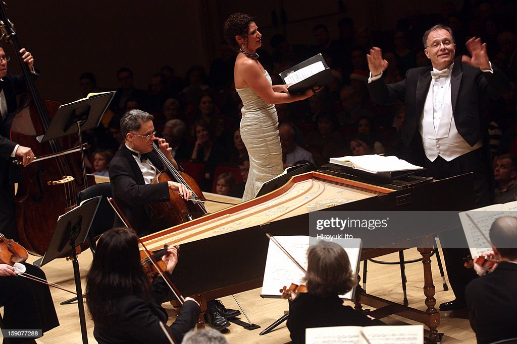 Kent Tritle leading the contralto Kirsten Sollek and Musica Sacra in Handel's 'Messiah' at Carnegie Hall on Thursday night, December 20, 2012.