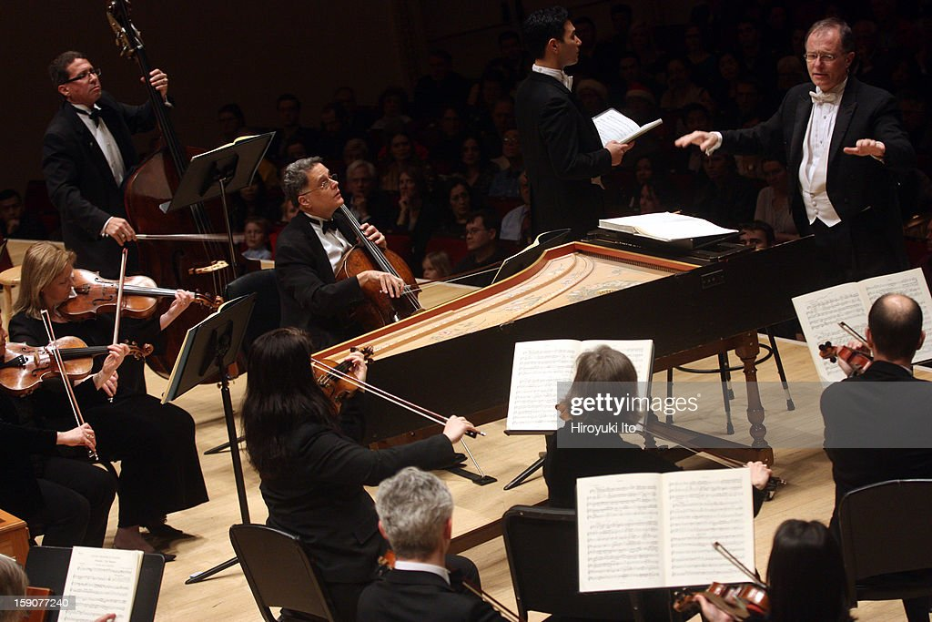 Kent Tritle leading the tenor Nicholas Phan and Musica Sacra in Handel's 'Messiah' at Carnegie Hall on Thursday night, December 20, 2012.
