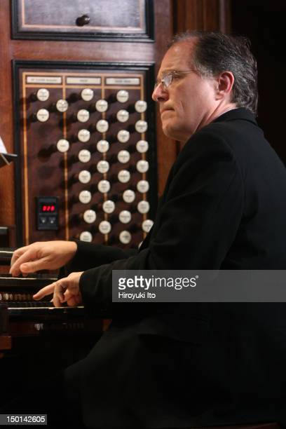 Kent Tritle performing in 'Sacred Music in A Sacred Place' at the Church of St Ignatius Loyola on Sunday afternoon September 12 2010He performed the...