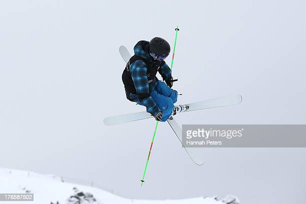 Kentaro Tsuda of Japan competes during qualifying for the FIS Freestyle Ski Halfpipe World Cup during day two of the Winter Games NZ at Cardrona...