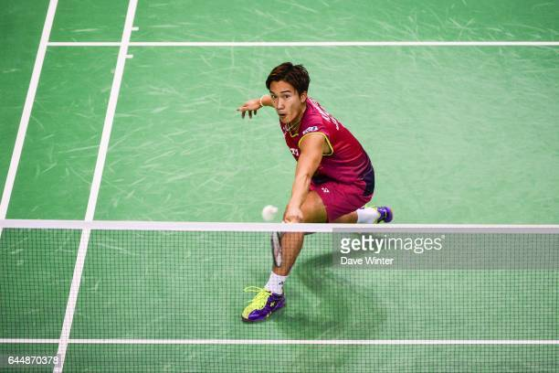 Kento MOMOTA / Simple Homme Yonex International de France 2015 Photo Dave Winter / Icon Sport