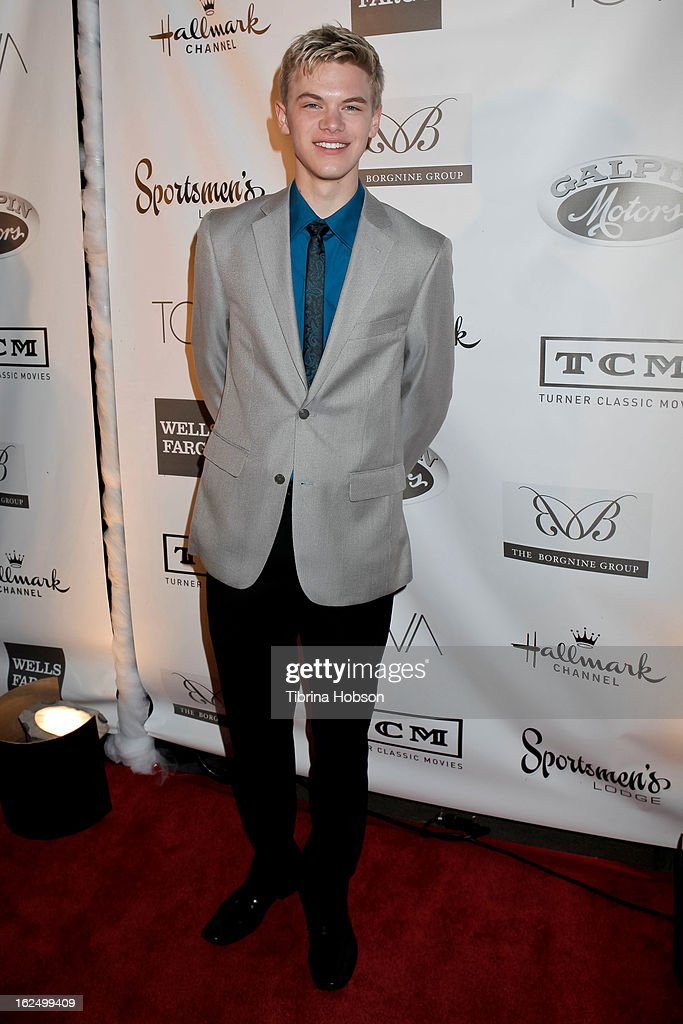Kenton Duty attends the Borgnine Group's 1st annual Borgnine movie star gala at Sportsmen's Lodge on February 23, 2013 in Studio City, California.