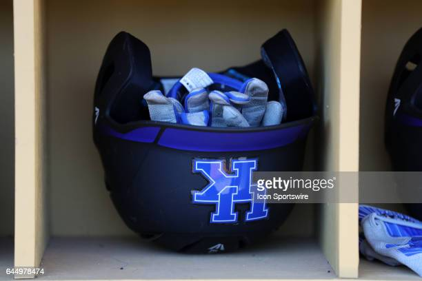Kentucky batting helmet and gloves The University of North Carolina Tar Heels hosted the University of Kentucky Wildcats in a College baseball game...