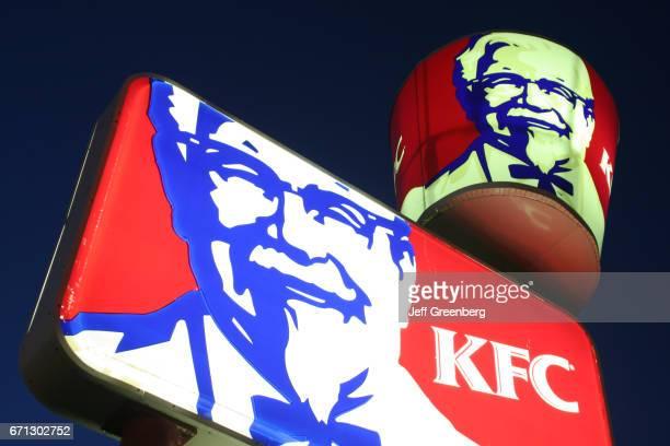 Kentucky Fried Chicken lighted sign