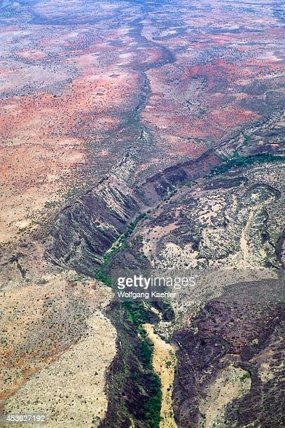 Kenya Aerial View Of Great Rift Valley