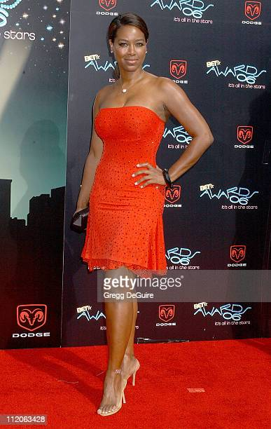 Kenya Moore during 6th Annual BET Awards Arrivals at Shrine Auditorium in Los Angeles CA United States