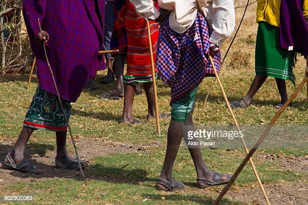 Kenya, Nanyuki, Samburu tribe of Kisargei